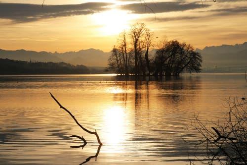 Still ruht der See – wieder. (Bild: Irene Wanner)