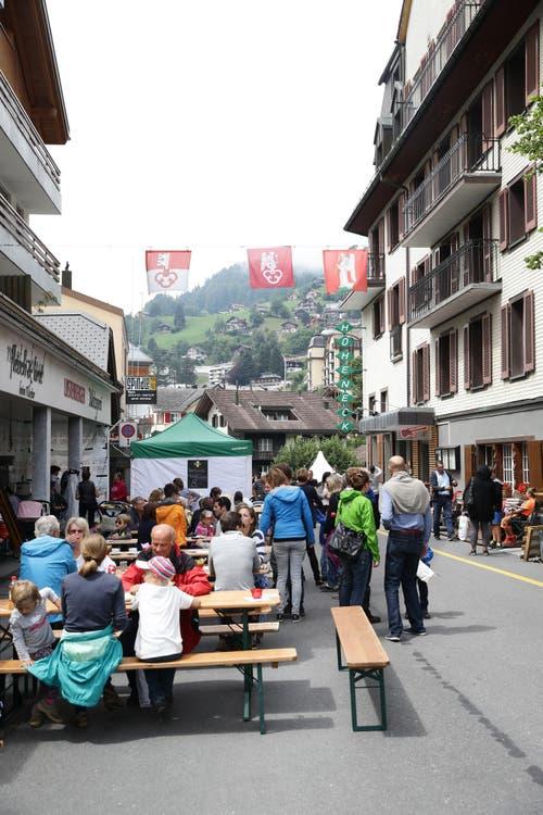 Impressionen von der grossen 1. Augustfeier in Engelberg. (Bild: Manuela Jans / Neue LZ)