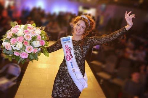 Valeria Huwiler aus Rotkreuz ist die charmanteste Zugerin. (Bild: PD)