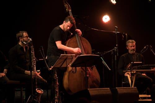 Pirmin Huber Ländlerorchester spielen im Kollegium. (Bild: Corinne Glanzmann)