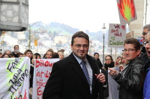Thomas Schärli (SVP) (Bild: Ramona Geiger / luzernerzeitung.ch)