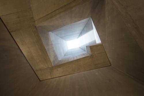 Im Neubau wurden Zimmer und Treppenhaus z. T. mit solchen Lichtschächten ausgestattet. (Bild: Dominik Wunderli / Neue LZ)