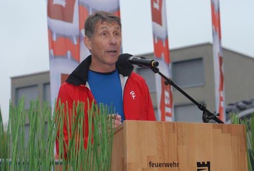 OK-Präsident Beat Isenschmid. (Bild: PD)
