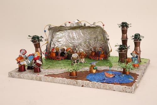 «Sijathwegi Chilbi» von Schulhaus Unterfeld, Zuchwil. Lehrperson: Sandra Leber; Künstler: Giada Cuda, Weronika Nasiek, Janis Fäh, Silas Zeltner, Tharun Uthayaraj (Bild: pd)