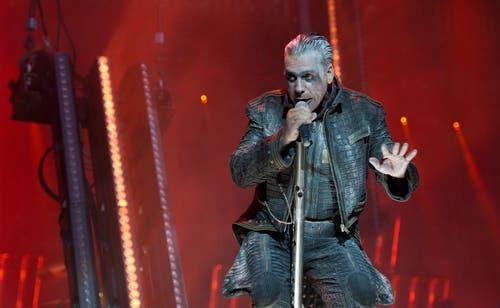 Allmend Rockt am Samstagabend. Till Lindemann in Bestform. (Bild: Corinne Glanzmann)