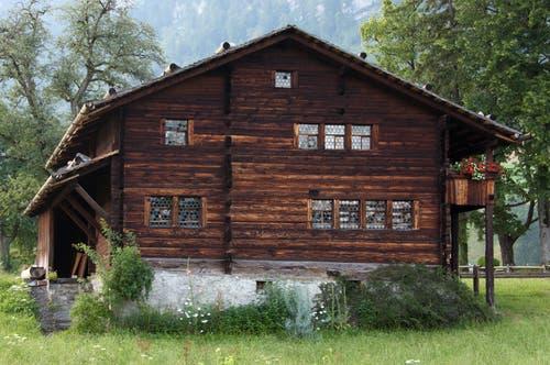 Kanton Obwalden: Flüeli-Ranft (Bild: Archiv Fachstelle für Kultur- und Denkmalpflege Obwalden)