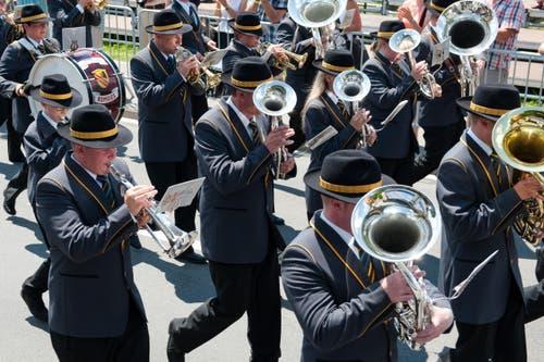 Musikgesellschaft Romoos (Bild: Dominik Wunderli)