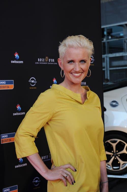 Sportmoderatorin Steffi Buchli. (Bild: Eveline Beerkircher/Neue LZ)