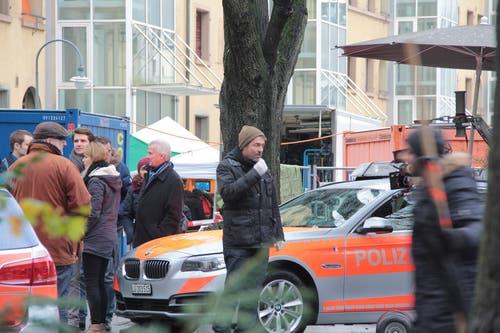 Hauptdarsteller Stefan Gubser spielt auch im neuen Tatort mit dem Titel «Freitod» Kommissar Reto Flückiger. (Bild: Claude Hagen (Neue LZ))