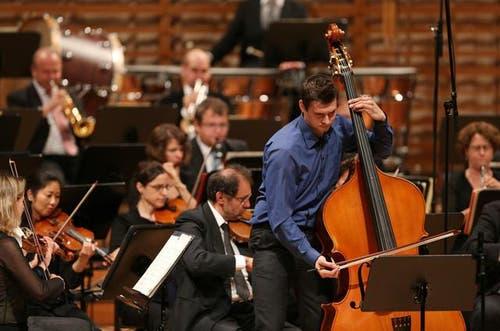Solistenkonzert der Musikhochschule Luzern mit dem Luzerner Sinfonieorchester im KKL Luzern. Das Bild stammt vom Juli 2014. (Bild: Philipp Schmidli)