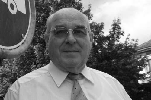 26.2.13: Der ehemalige Schwyzer Regierungs- und Ständerat Xaver Reichmuth stirbt 82-jährig. Er galt als einer der Begründer des modernen Schwyz. (Archivbild Neue SZ)