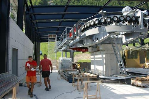 Das Projekt kostet rund 55 Millionen Franken. (Bild: Philipp Unterschütz)