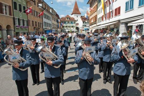 Musikgesellschaft Doppleschwand (Bild: Dominik Wunderli)