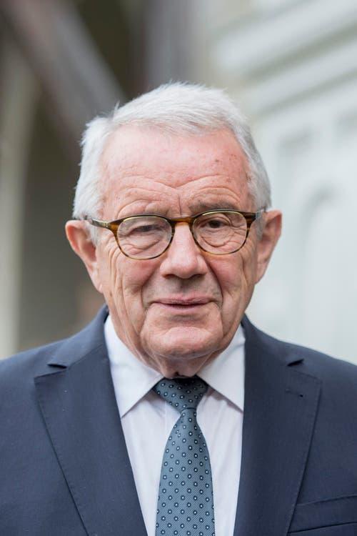 Alt-Bundesrat Arnold Koller. (Bild: Urs Flüeler / Keystone)