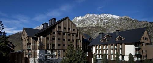 Das Hotel «The Chedi» in Andermatt wird am 9. Dezember offiziell eröffnet. (Bild: PD)
