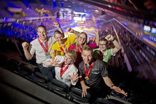 21. September: Zentralschweizer räumen ab - Grosser Auftritt an den Schweizer Berufsmeisterschaften Swiss Skills in Bern. 29 Podestplätze holten die jungen Zentralschweizer. In 11 der 70 Berufskategorien gab es eine Goldmedaille. (Bild: Pius Amrein / Neue LZ)