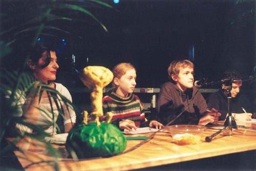 10 Jahre KIPA, 20. November 2003, Maurus Zeier als Co-Präsident, Beatrice Heeb (Bild: zvg)