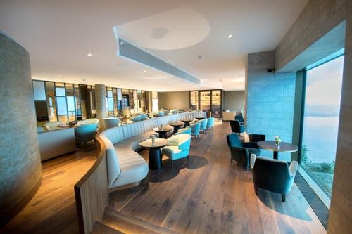Smoker Lounge im Bürgenstock-Hotel (Bild: Eveline Beerkircher)
