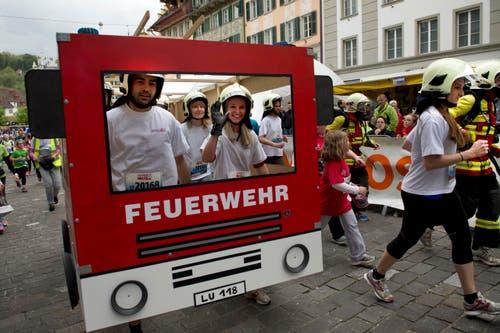 Feuerwehr der Stadt Luzern (Bild: Eveline Beerkircher / Neue LZ)