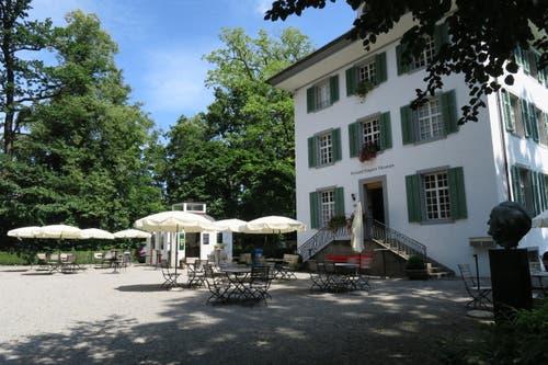 Gleich nebenan befindet sich der Stop «Richard Wagner Museum Luzern». (Bild: Stefanie Nopper / Luzernerzeitung.ch)