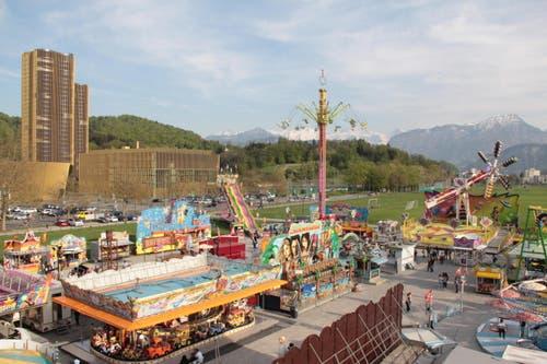 Lunapark (Bild: Ramona Geiger / Neue LZ)