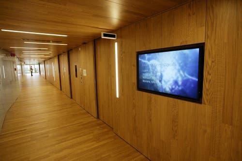 Die Privatabteilung «excellende» im Luzerner Kantonsspital. (Bild: Philipp Schmidli/Neue LZ)