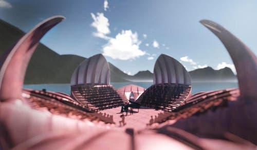 Die Seerose ist Bühne für Konzerte, Theatervorführungen und andere kulturelle Veranstaltungen. (Bild: pd)