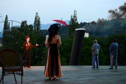 Die zentrale Figur des Stücks ist Franz Josef Bucher, eine historische Persönlichkeit. (Bild: Keystone / Urs Flüeler)