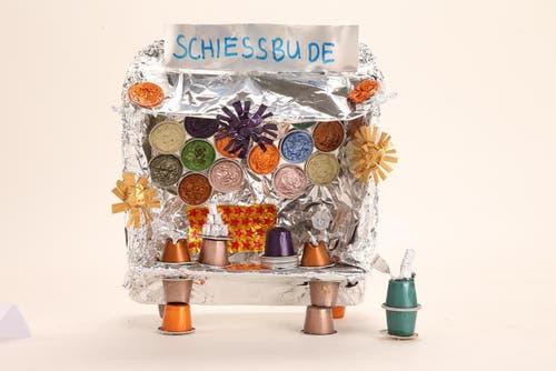 «Schiessbude» von Schule Talentia, Zug. Lehrpersonen: Ranja Dittli /Nancy Janssen; Künstler: Manuel Wagner (Bild: pd)