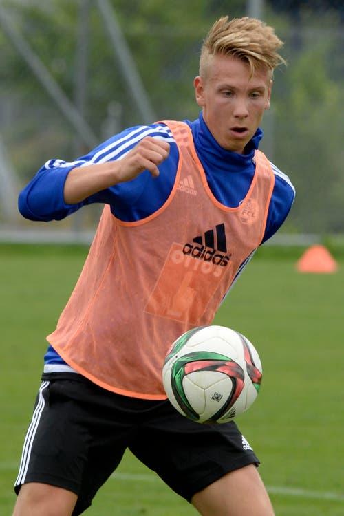Ausgeliehen von Borussia Mönchengladbach für ein Jahr: Nico Brandenburger. (Bild: Keystone / Urs Flüeler)