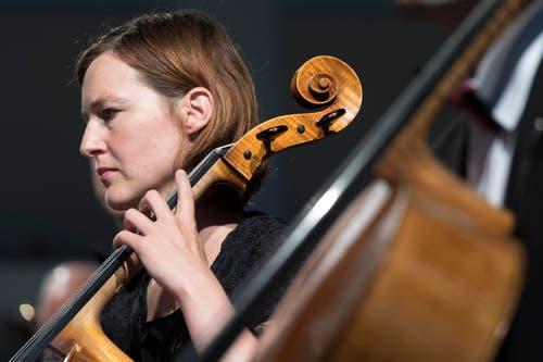 Die Musikgesellschaft Schnottwil. (Bild: LAURENT GILLIERON)