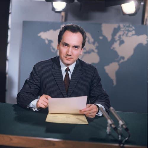 1967: Leon Huber (Bild: SRF)