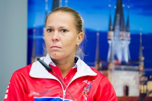 Die Nummer 4 von Tschechien ist Lucie Hradecka (30). (Bild: Keystone / Urs Flüeler)
