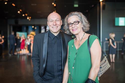 Lucerne Festival: Dieter Ammann mit seiner Frau Yolanda Senn Ammann. (Bild: Roger Grütter)
