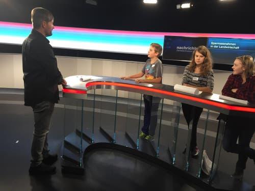 Nachwuchstalente beim Tele1 (Bild: zvg)