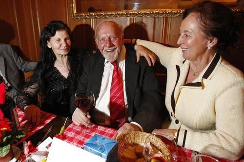 Bürgi feiert im Restaurant Felsenegg seinen 80. Geburtstag. (Bild: Neue LZ)