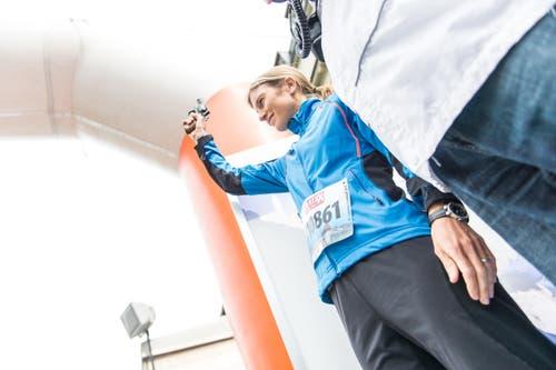 Ehrenstarterin Simone Niggli Luder (Bild: Roger Grütter)