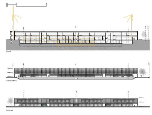 Querschnitt des neuen Stadions (Bild: Visualisierung PD)