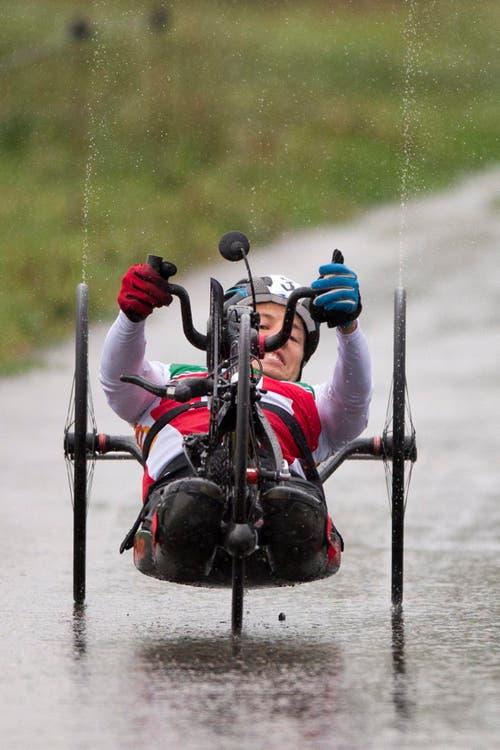 Tobias Fankhauser aus der Schweiz. (Bild: EPA/Urs Flüeler)