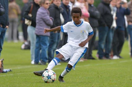 Ein Junior des FC Zürich. (Bild: Martin Meienberger)