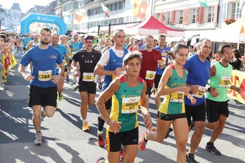 Beste Laufbedingungen in Willisau. (Bild: Philipp Schmidli / Luzerner Zeitung)