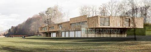 Das neue Ruderzentrum soll rund 16 Millionen Franken kosten. (Bild: PD)