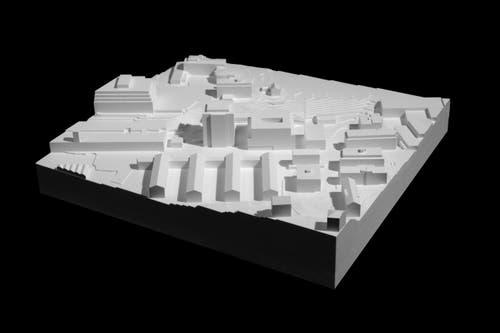 Modellfoto (Bild: Visualisierung Metron Architektur AG)