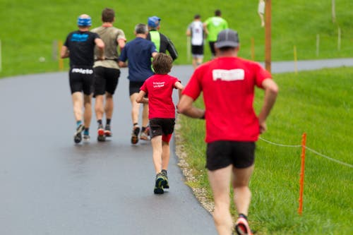Der junge aus Werdenberg läuft unter den Cracks. (Bild: Beat Blättler)