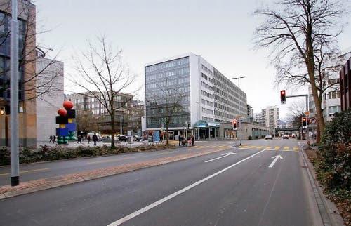 Baarerstrasse heute (Bild: Neue ZZ)