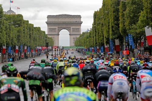Arc de Triomphe (Bild: AP / Christophe Ena)