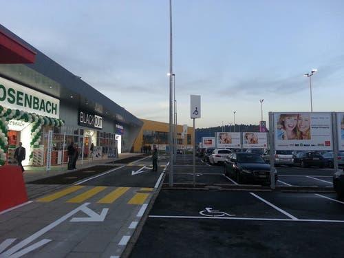 Das neue Shoppingcenter Walige in Rothenburg. (Bild: zvg)