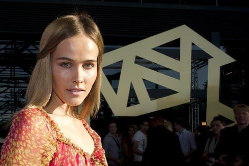 Isabel Lucas, bekannt aus dem Film: Krieg der Götter. Sie hat Verwandte in Horw. (Bild: Keystone/Sigi Tischler)