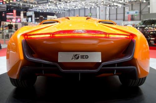 Geschwungene Linien, geschaffen von Studenten des Instituto Europeo di Design in Mailand: Der Concept Car Hyundai PassoCorto. (Bild: Keystone)