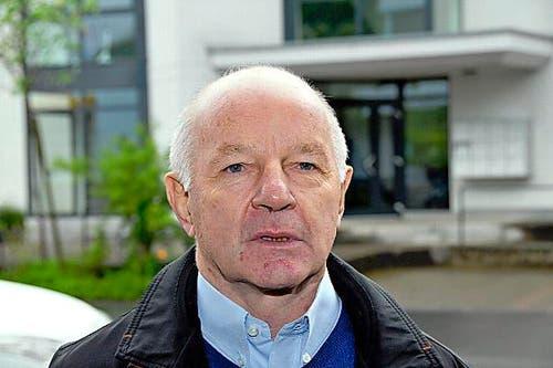 Wolfenschiessen Gemeinderat: Eugen Dornbierer, FDP, 71, neu. (Bild: Oliver Mattmann / Neue NZ)